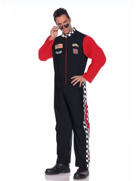 Mens Car Racer Racing Sport Driver Costume