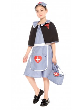 Kids Nightingale Nurse Costume
