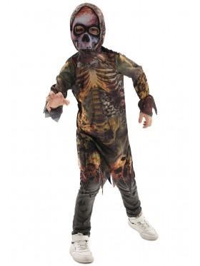 Boys Walking Dead Jumpsuit Costume