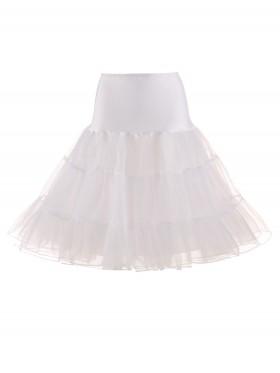 White 50s Vintage Petticoat