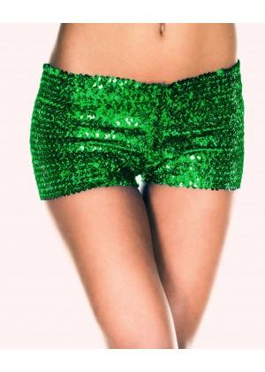 Green Sequin short