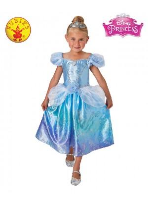 Girls Cinderella Rainbow Deluxe Costume cl1886