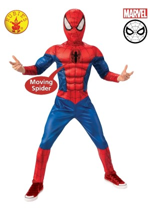 Boys Spider-man Duluxe Costume cl3160