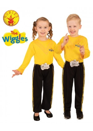 KIDS EMMA WIGGLE DELUXE PANTS COSTUME cl3172
