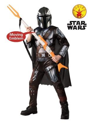 Kids Star Wars Mandalorian Deluxe Costume cl3182