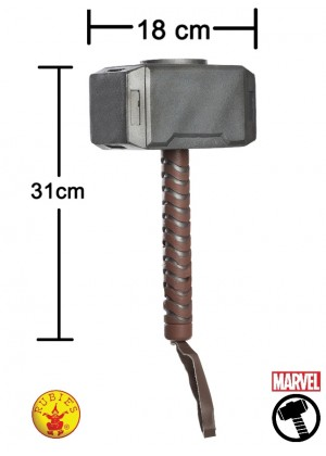 Kids Thor Hammer Accessory cl35639