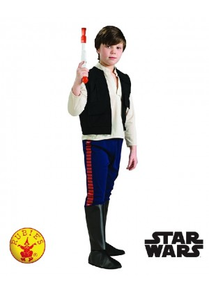 Kids Star Wars Han Solo Costume Child Deluxe Licensed Millennium Falcon