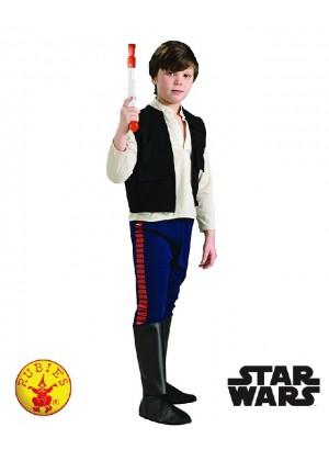 Kids Star Wars Han Solo Costume Child Deluxe Licensed Millennium Falcon