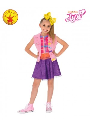 JOJO SIWA MUSIC VIDEO Girls Fancy Dress Celebrity Music Diva Childs Idol Kid Outfit Costumes