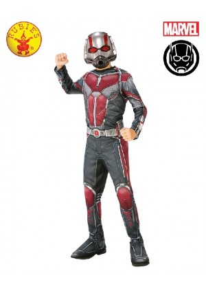 Deluxe Ant-Man Boys Fancy Dress Superhero Marvel Child Comic Book Day Kids Childrens Costume