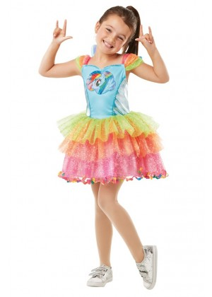 Girl My Little Pony Rainbow Costume cl641425