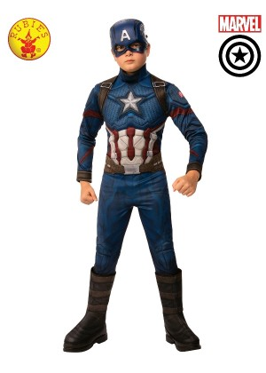 Kids CAPTAIN AMERICA DELUXE COSTUME