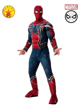 Mens Avengers Endgame Iron Spider Spider-Man Costume
