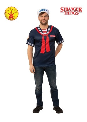 STEVE STRANGER THINGS SCOOPS AHOY UNIFORM MENS