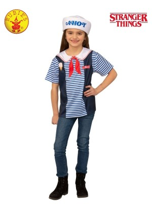 Child Teen Scoops Ahoy Stranger Things Costume cl701478