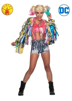 HARLEY QUINN BIRDS OF PREY COSTUME LADIES