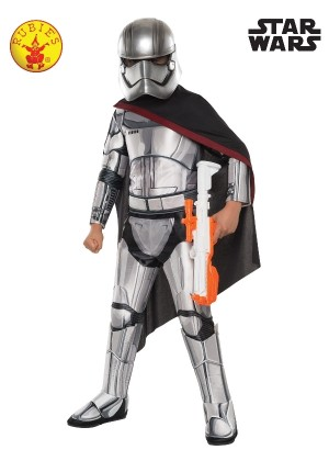 Boys Captain Phasma Super Deluxe Costume cl7780