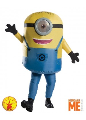 adult Inflatable Minion Stuart Despicable Me mens Halloween costume