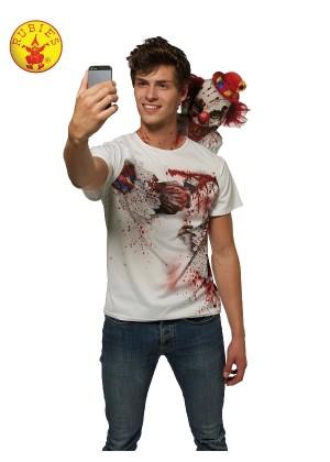 Mens Clown Selfie Shocker Costume cl820476