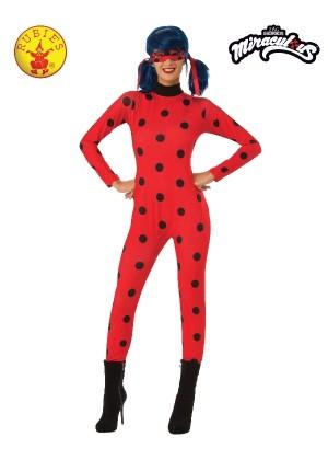 Ladies Miraculous Ladybug Costume cl820485