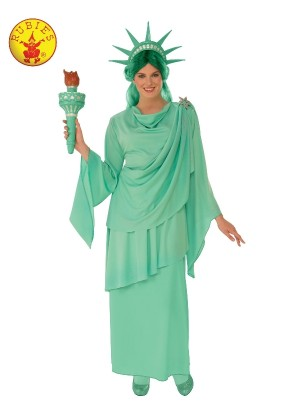 Unisex USA Liberty Statue Costume cl821127
