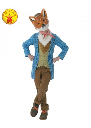 Boys Roald Dahl Fantastic Mr Fox Costume World Book Week Fancy Dress Kids Child