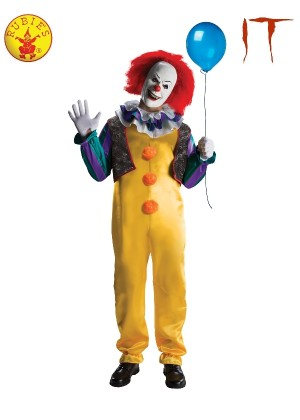 PENNYWISE DELUXE COSTUME Mens