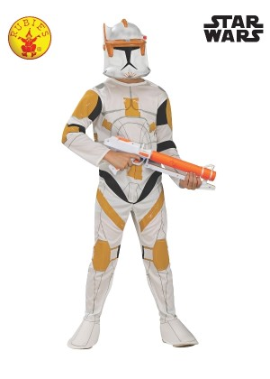 Boys Clone Trooper Commander Cody Costume cl883206
