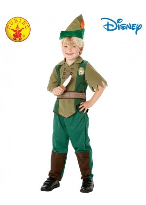Child Deluxe Peter Pan Costume Boys Girls Neverland Robin Hood Fancy Dress Book Week Outfit