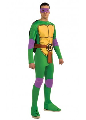 Movie/TV/Cartoon Costumes - TV Show TMNT Teenage Mutant Ninja Turtles Costume Rubie's Donatello Purple