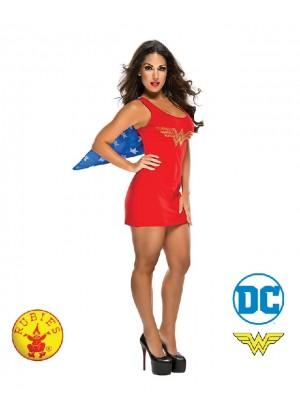 Ladies Halloween Rubie's Wonder woman Revenge Superhero girl Fancy Dress Costume Outfits
