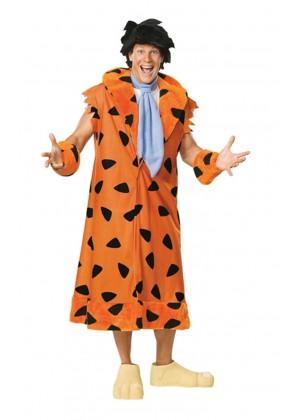The Flintstones Fred Flintstone Flint Stone Licensed Adult Halloween Costume