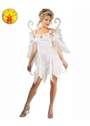 Ladies Halloween Rubie's Secret Wishes Snow Fairy Adult Fancy Dress Book Week Costume Outfits