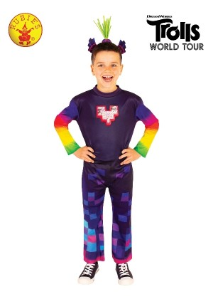 KING TROLLEX 2 DELUXE COSTUME Kids