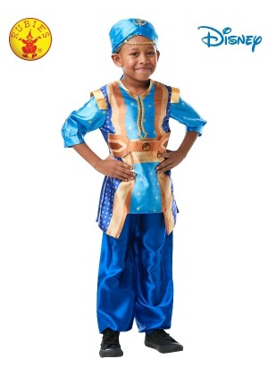 Genie Aladdin Disney Live Action Fairytale Child Costume