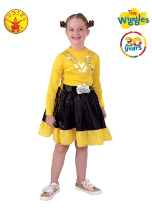 Kids Emma Wiggle 30th Anniversary Costume cl9809