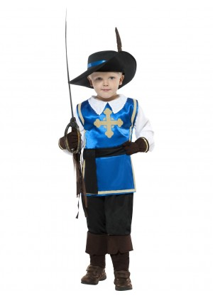 Kids Musketeer Child Costume