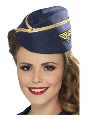 Ladies Air Hostess Hat