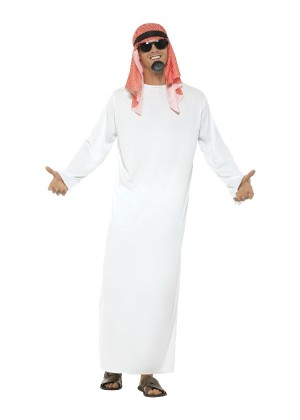 Mens Fake Sheikh Costume cs24805