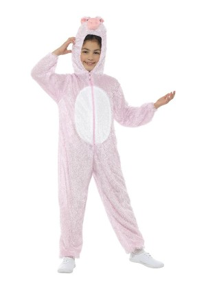 Kids Pig Costume Girls