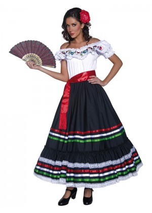 SENORITA COSTUME cs34449