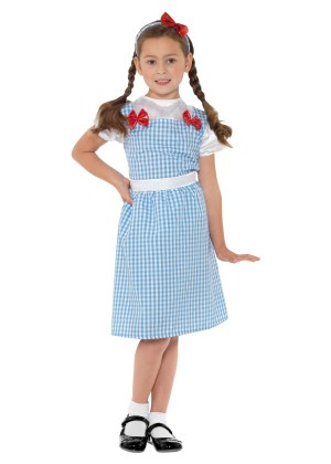 Country Western Girl Fancy Dress Dorothy The Wizard Of Oz Costume Book Week Fancy Dress Kids Outfit