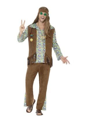 Mens 60s Hippie Hippy Costume cs43126