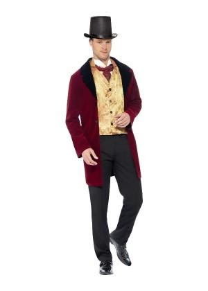 Edwardian Gent Mens Costume