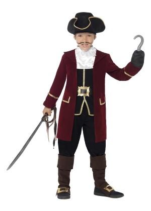Pirate Boys Captain Costume cs43997