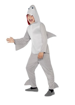 Kids Animal Shark Mascot Costume Fancy Dress Party Cosplay Outfit Bodysuit Suit