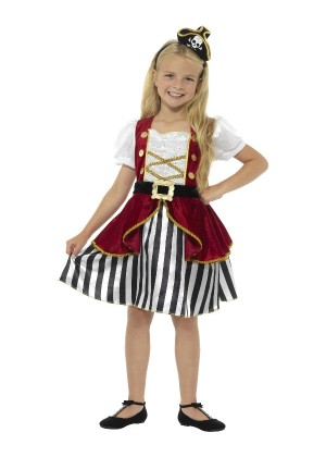 Deluxe Pirate Girl Wench Costume cs44404