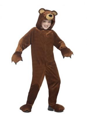 Bear Teddy Book Week Animal Jumpsuit Boys Girls Kids Aniaml Costume Fancy Dress
