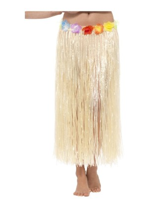 Ladies Hawaiian Hula Flower Skirt cs44590