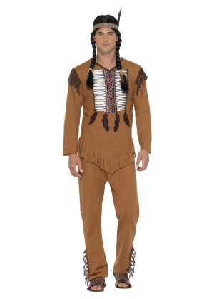 Native Western Warrior Costume CS45509_2